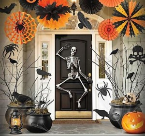 Decoraciones monstruosas para halloween