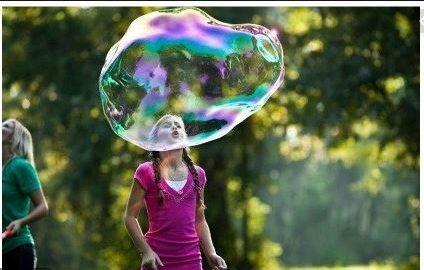 Burbujas para fiestas infantiles